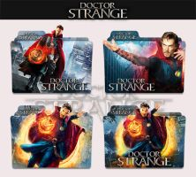 Doctor Strange 2016 Folder Icon by sonerbyzt