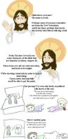 Jesus tells about Leviticus by HILLYMINNE