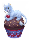 Dolphy Cupcake - Commissions by DolphyDolphiana