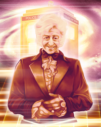 Doctor Who - Jon Pertwee by Kachumi