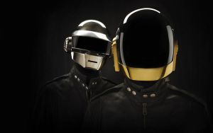 Daft Punk without decoration by killingspr