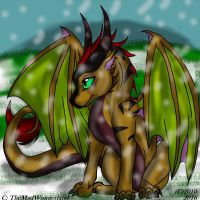 Meetu - Dragon In The Snow by WonderlandTrades