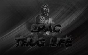 2pac - Thug Life by curtisblade