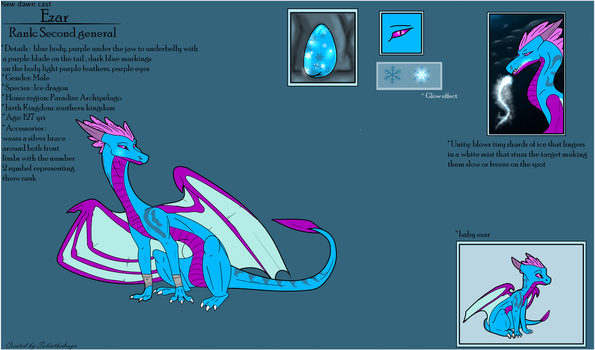 Ezar Ref by SolinTheDragon