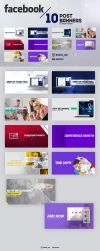 Facebook Startup Post Banners Ads by Shizoy