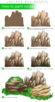 How To Paint Rocks by wysoka