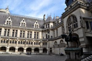 Pierrefonds Castle - Camelot main courtyard 2 by MorgainePendragon