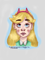 Star Butterfly by The-Power-Of-Fiction