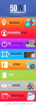 50in1 Free Photoshop Resources Bundle by UJz