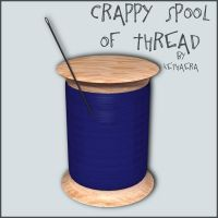 Spool of Thread Freebie by Kethaera