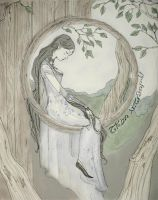 Luthien's Enchantment by White-Rose-Tree
