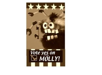 Vote For Molly by Rob-Schrab