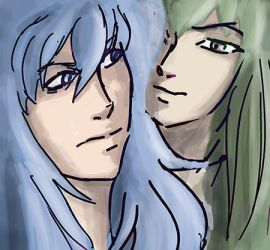Kardia and Degel by ladyhook