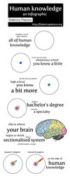 Human knowledge an infographic by M0lybdenum