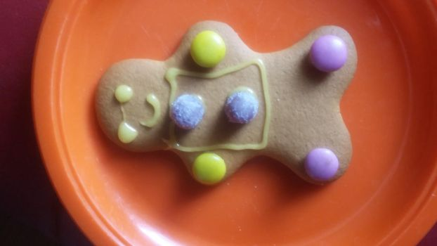 Ginger bread decorating  by Jaimielovesfanbase12