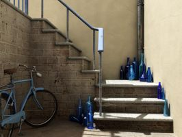 The Bottle Collector by curious3d