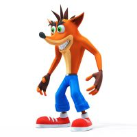 Crash Bandicoot by doubleagent2005