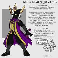 NFB - King Dimentio Zebus by DordtChild