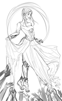 Our Beautiful Princess (wip) by AlphaCaht