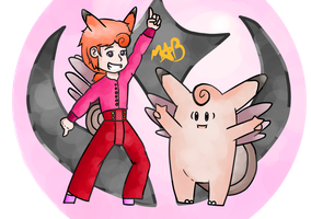 Human Clefable #36 by TheDrawingMorgs