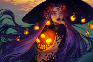 Anticipation // Halloween by mioree-art