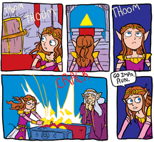 The Legend of Zelda: Prologue 01 by rondell