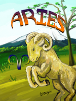 Aries by DarkRubyMoon
