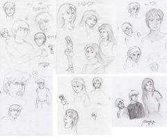 Jonny Quest Study and Sketches by generalsnaz