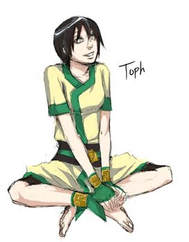 Older Toph by arrancar