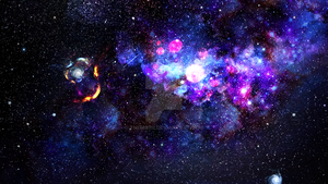 Space Nebula by TheMorr