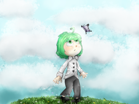 Butterfly by GentleWillow