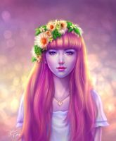 Violet Dream by TinyTruc