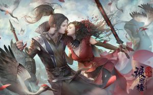 Stop a fight with a Kiss by Linfter