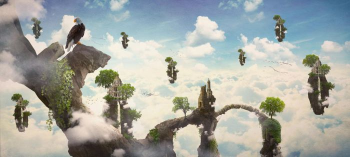 FAIRY TALES: THE KINGDOM OF CLOUDS by diepthienphong