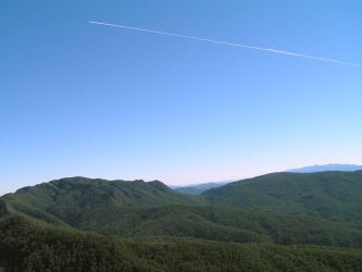Plane Trails by timbo