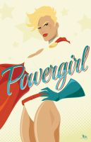 Powergirl by MikeMahle