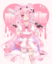 PINK PUNK by lemiilily