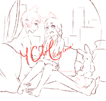 [YCH Auction] Cozy Convo [CLOSED] by tshuki
