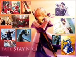 fate stay night by flamingice2439
