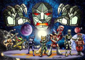Heroes of the Lylat System by SpaceBoy969