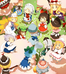 Spring party by 3-Keiko-chan-3