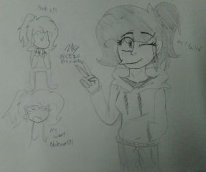Testing my oc with other artist artstyle #1 by CupcakeEdits20