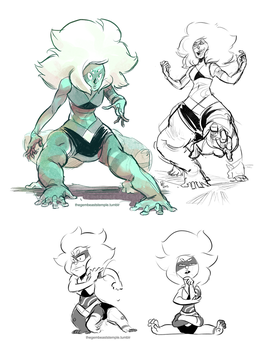 Malachite doodles by Rhandi-Mask