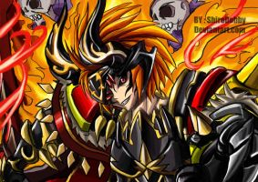 -Brave Frontier-  Luther by shirodebby