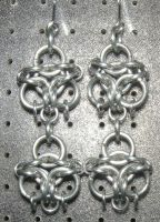 Chainmaille Earring 83 by Des804