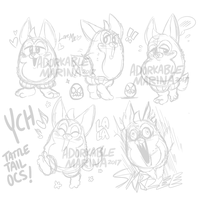 Tattletail OC YCH [CLOSED!] by AdorkableMarina