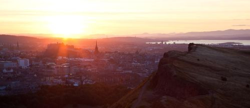 The remains of the day - Edinburgh by BadAlki