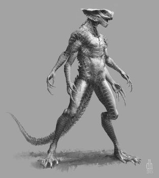 Taybuse - (Alien concept variation #3) by Orion35
