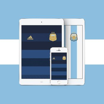 Argentina Kits (Away/Home) by Azhadizhar