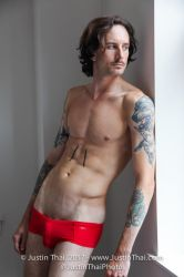 red underwear by the window by lovers6